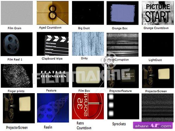 Vintage Film FX Pack
