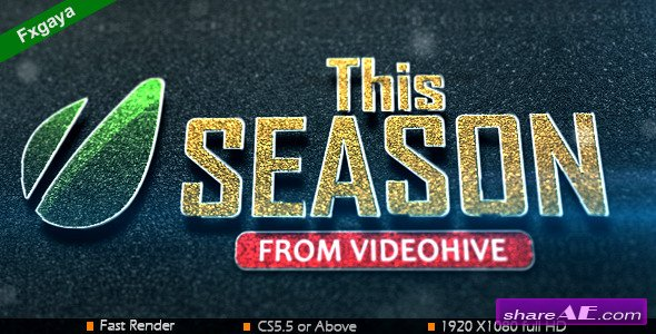 This Season - After Effects Project (Videohive)