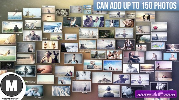 3D Photos Slideshow - After Effects Project (Videohive) » free after