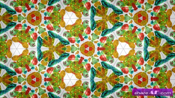Amazing Kaleidoscope - Motion Graphic (Videohive)