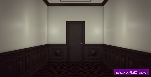 Open Mystery Door - Motion Graphic (Videohive)