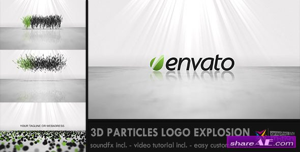 3D Particles Logo Explosion - After Effects Project (Videohive)