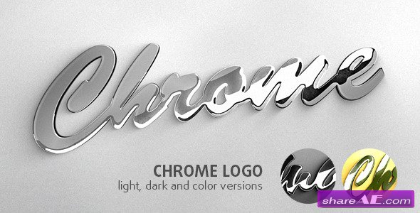 Chrome Logo - After Effects Project (Videohive)