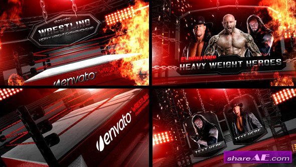 Wrestling Heavy Weight Champhionship - After Effects Project (Videohive)