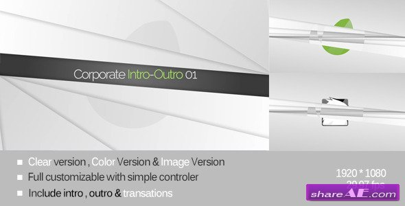 Corporate Intro-Outro 01 - After Effects Project (Videohive)