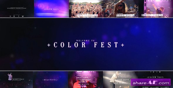 Color Festival - After Effects Project (Videohive)