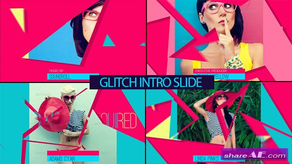 Glitch Intro Slide - After Effects Project (Videohive)