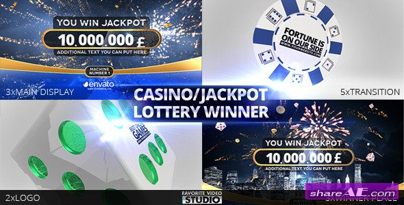 Casino/Jackpot/Lottery Winner - After Effects Project (Videohive)