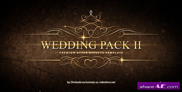 Wedding pack ii after effects project videohive free for After effects cs4 intro templates free download
