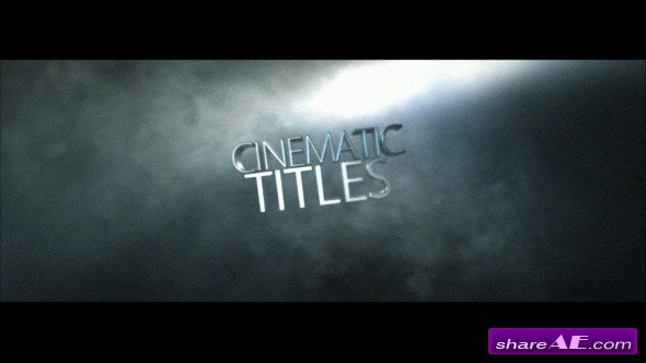 Videohive Cinematic Title » Free After Effects Templates ...