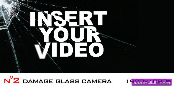 Damage Glass Camera - 2 elements - After Effects Project (Videohive)