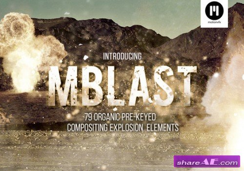 motionVFX - mBlast 2K Collection