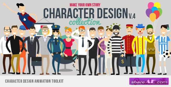 Videohive Character Design Animation Toolkit