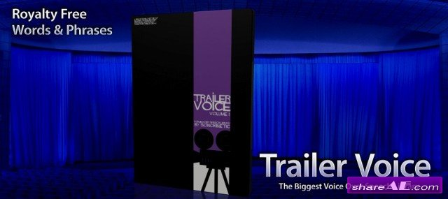 Sonokinetic - Trailer Voice 1 - The Biggest Voice Over Speech Library