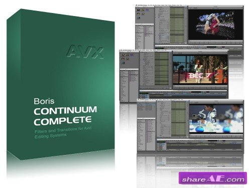 Boris Continuum Complete v9.0.1051 for After Effects (WiN64)