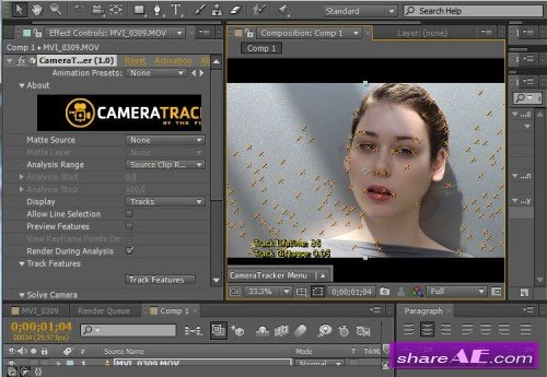 The Foundry CameraTracker 1.0v9 for After Effects