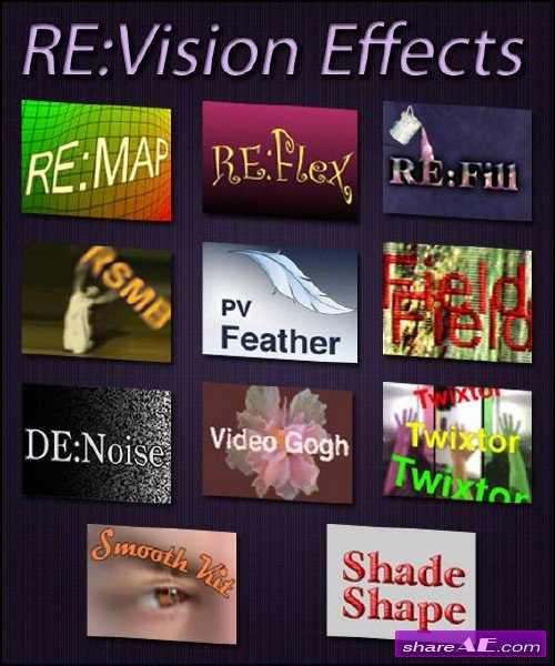 Re:Vision Effects Collection for After Effects (July 2014)