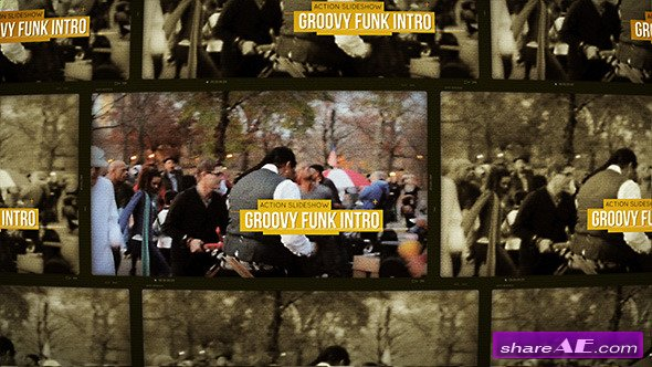 Groovy Funk Intro - After Effects Project (Videohive)