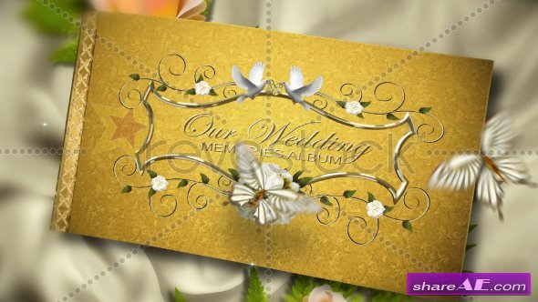 Our Precious Wedding Album - After Effects Project (Revostock)