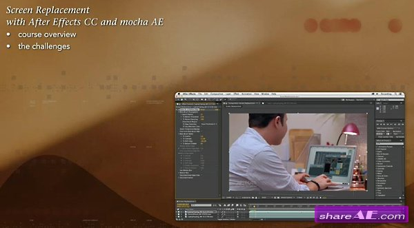 Screen Replacement with After Effects and mocha AE (Lynda)