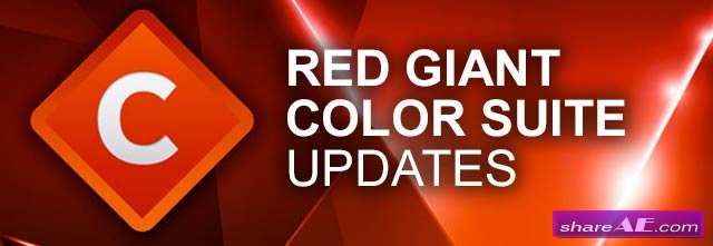 Red Giant Color Suite 11.1.4 (Win/Mac)