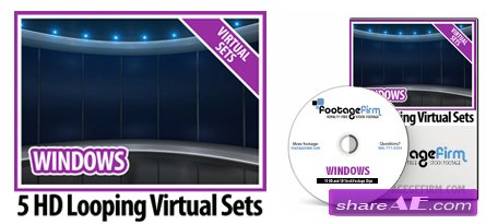 Footage Firm: Windows Virtual Set