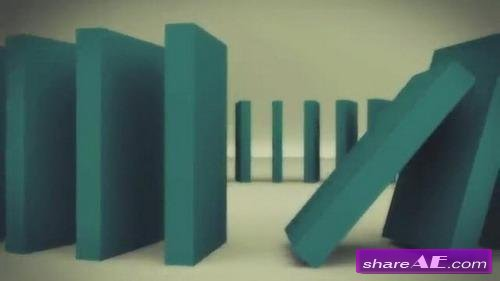 Domino logo - After Effects Template