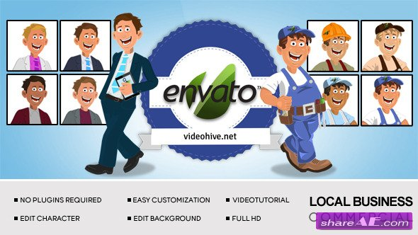 Local Business Commercial - After Effects Project (Videohive)