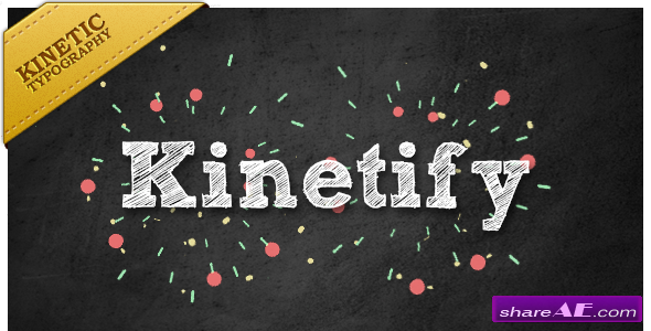 Kinetify, sends a happy message. - After Effects Project (Videohive)