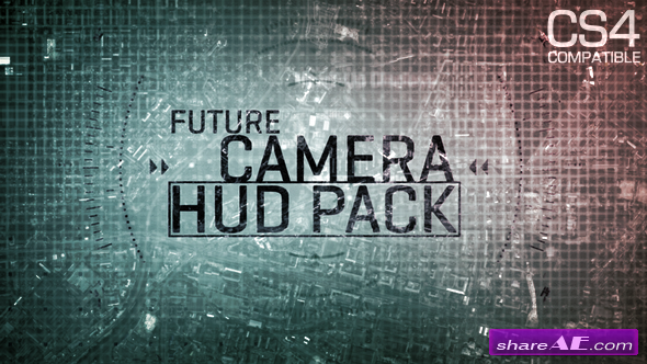 Future Camera HUD Elements - After Effects Project (Videohive)