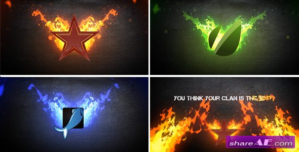 Fire logo - After Effects Project (Videohive)