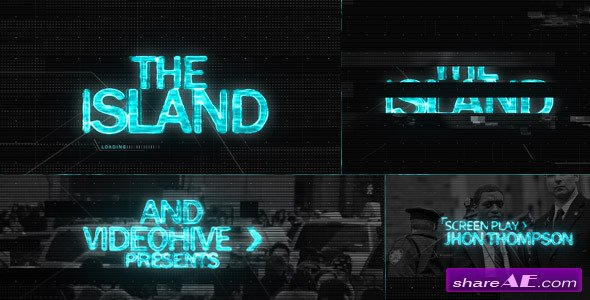 The ISLAND (Sci Fi) Cinematic Title Sequence - After Effects Project (Videohive)