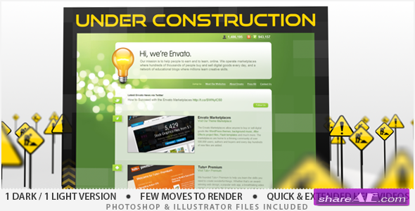 Under Construction - After Effects Project (Videohive)