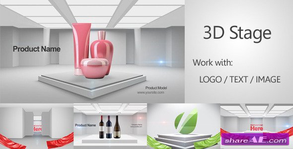 3D Stage 3D Promo - After Effects Project (Videohive)