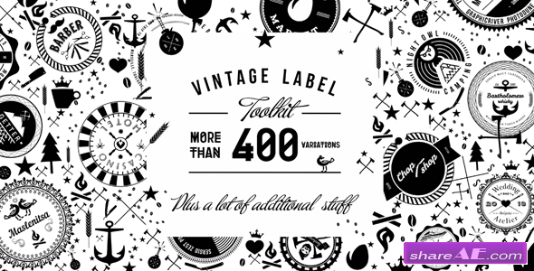 Vintage Label Toolkit - After Effects Project (Videohive)