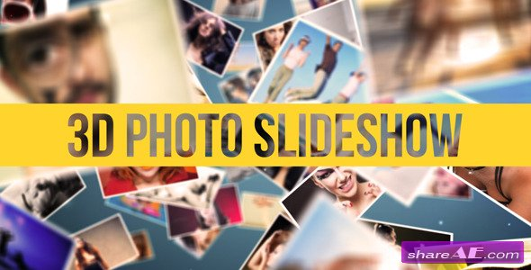 3D Photo Slideshow - After Effects Project (Videohive)