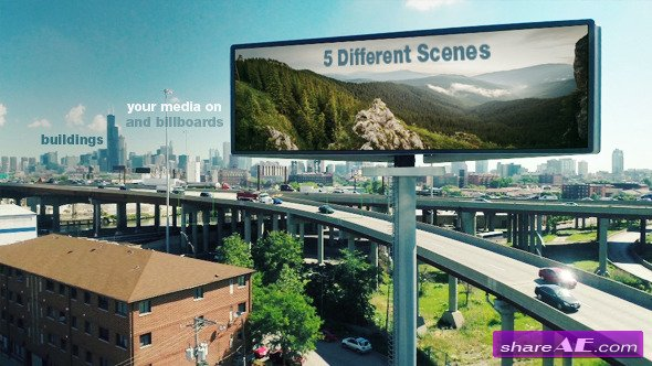 Billboard Ads - After Effects Project (Videohive)