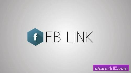 Social Media Links - After Effects Template