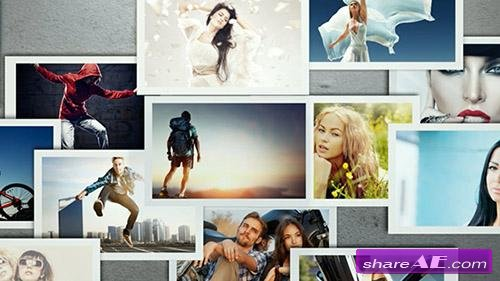 Photowall - After Effects Template (VideoBlocks)