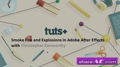 Smoke Fire and Explosions in Adobe After Effects (Tutsplus)