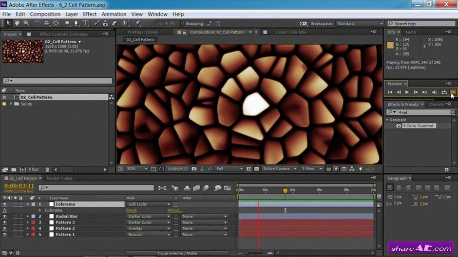 Motion Graphics for Video Editors Creating Backgrounds