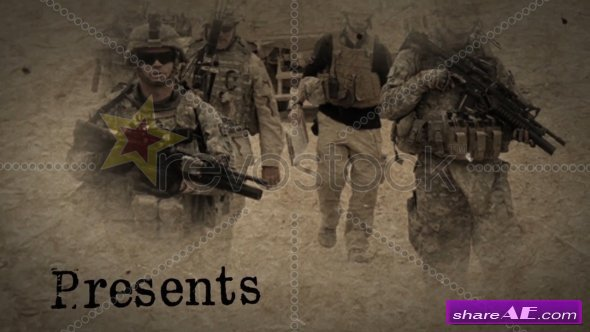 The Last War Title - After Effects Template (Revostock)