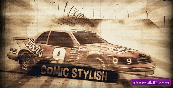 Comic Film Opener - After Effects Project (Videohive)