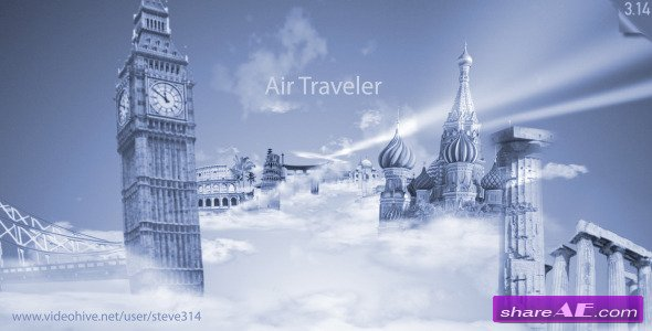 Air Traveler - Logo Intro - After Effects Project (Videohive)