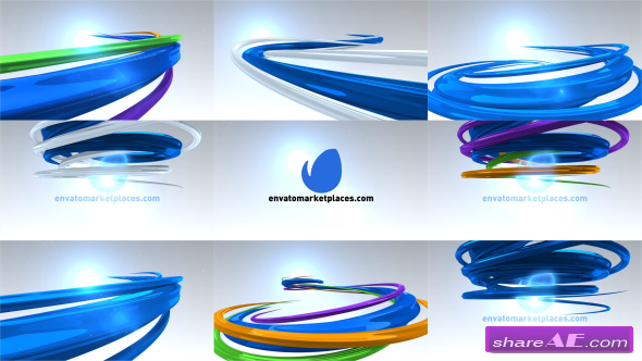 Videohive Abstract Lines Logo After Effects Projects Free After - Free ae logo templates