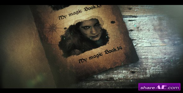 My Magic Book - After Effects Project (Videohive)