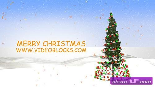 Rockin Around the Christmas Tree - After Effects Project (VideoBlocks)