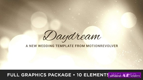 Daydream Wedding - After Effects Project (Videohive) » Free After ...