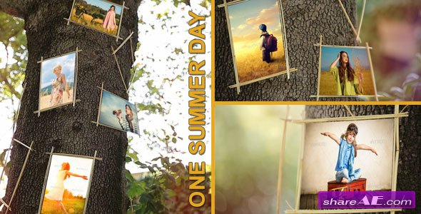 One Summer Day - After Effects Project (Videohive)