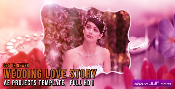 Wedding Love Story - After Effects Project (Videohive)